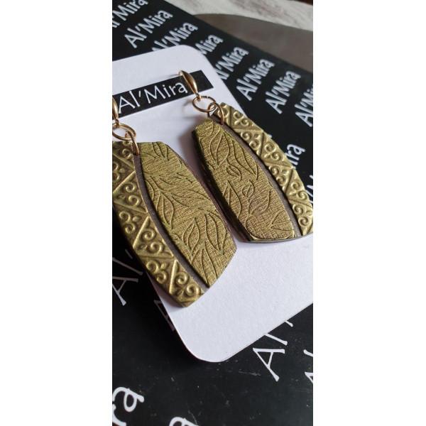 Серьги из полимерной глины Al'mira 1