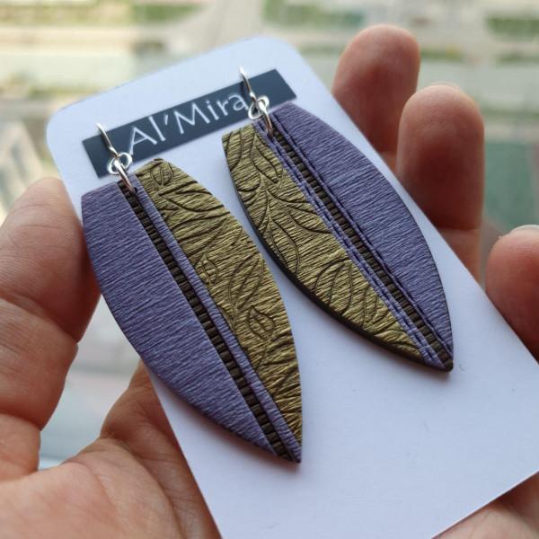 Серьги из полимерной глины Al'mira 2