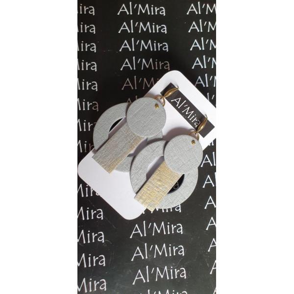Серьги из полимерной глины Al'mira 5