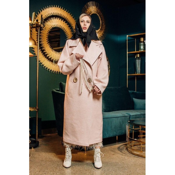 Пальто оверсайз силуэт бочонок Azali Brand