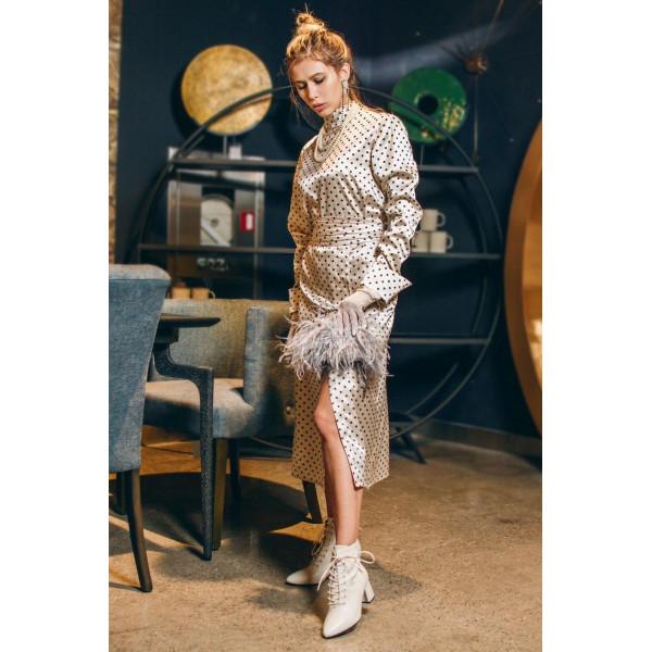 Платье из шелкового сатина Azali Brand