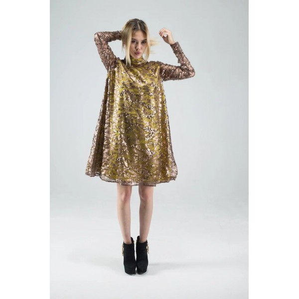 Платье из пайеток AzAli Brand
