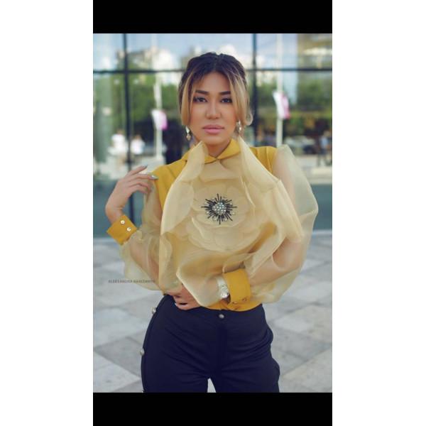 Блуза Фиона из крепа AzAli Brand