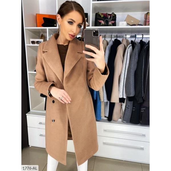 Пальто с запахом
