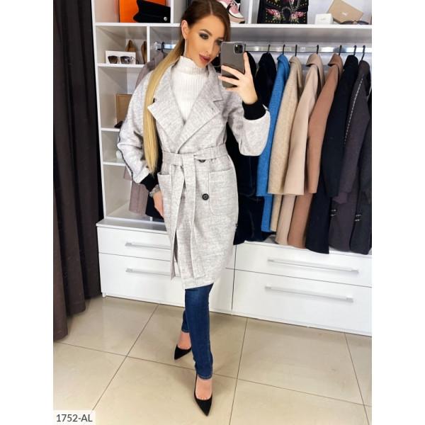 Пальто с лампасом