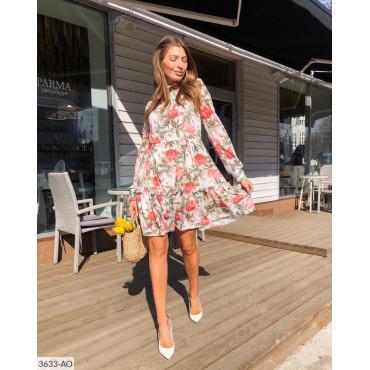 Платье из итальянского шифона